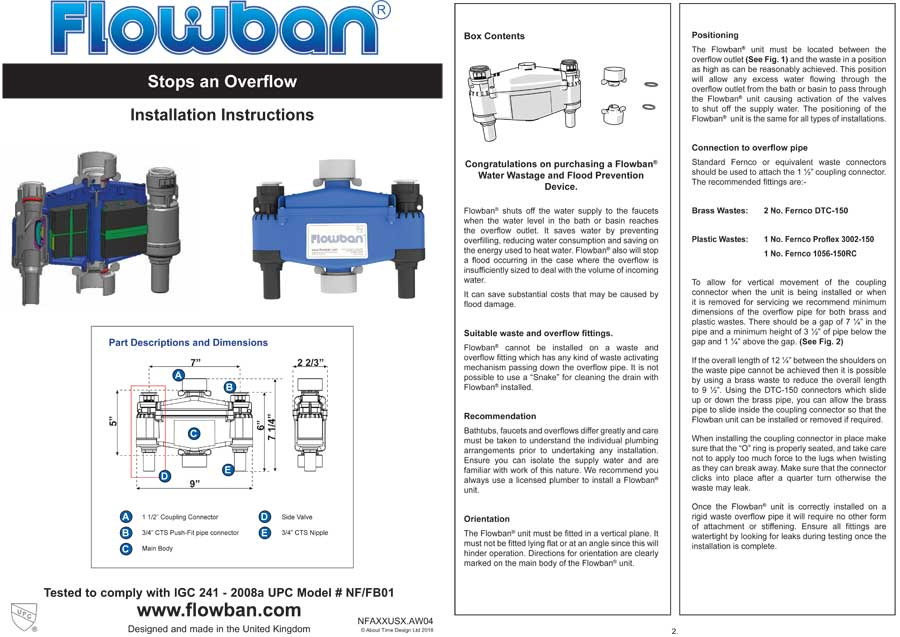Flowban Installation Guide